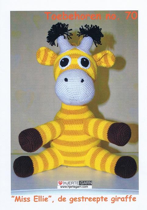 Patroon Giraffe Handwerkatelier Serdani